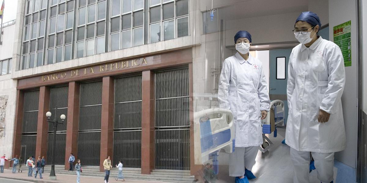 Banrepública preocupado por riesgos económicos del coronavirus