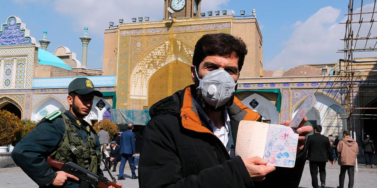 Irak prohíbe la entrada de iraníes por tierra tras muertes por coronavirus