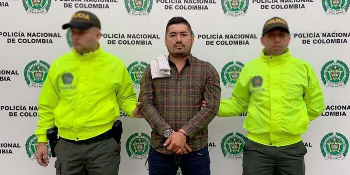 Cayó alias Contador, capo del narcotráfico del sur de Colombia