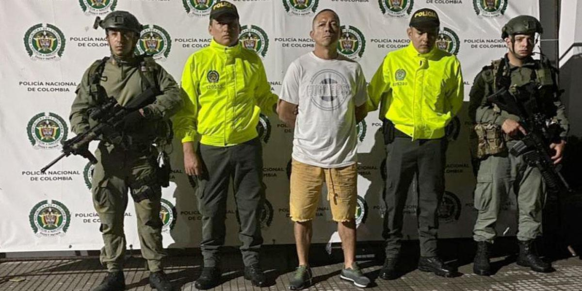 Cae alias 'El Árabe', jefe de comunicaciones de la subestructura Carlos Vásquez del 'Clan del Golfo'