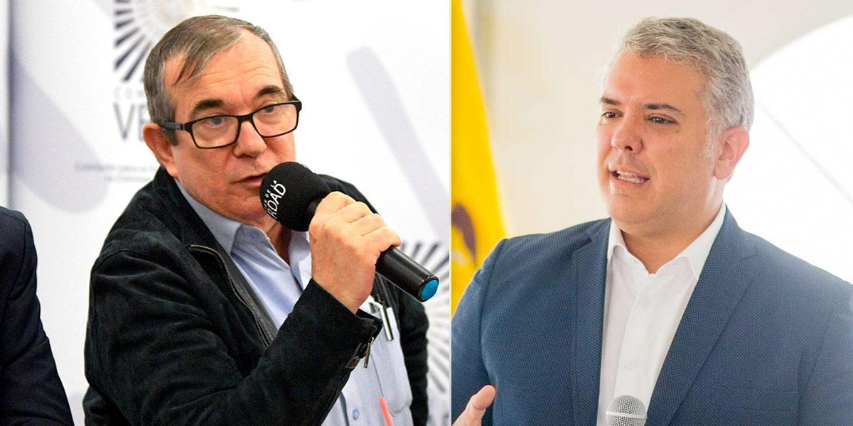 «Duque pare el genocidio», el pedido de Timochenko al presidente