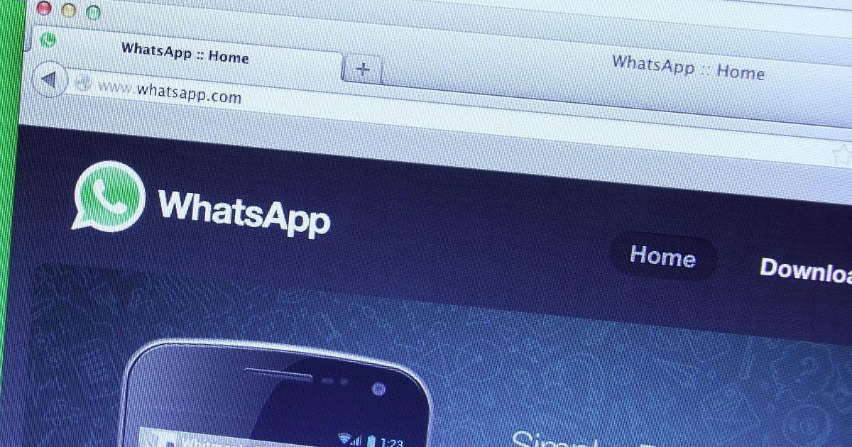 WhatsApp Web / Foto: iStock