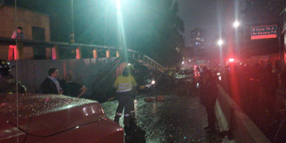 Dos heridos por caída de un árbol en la avenida Circunvalar con 86