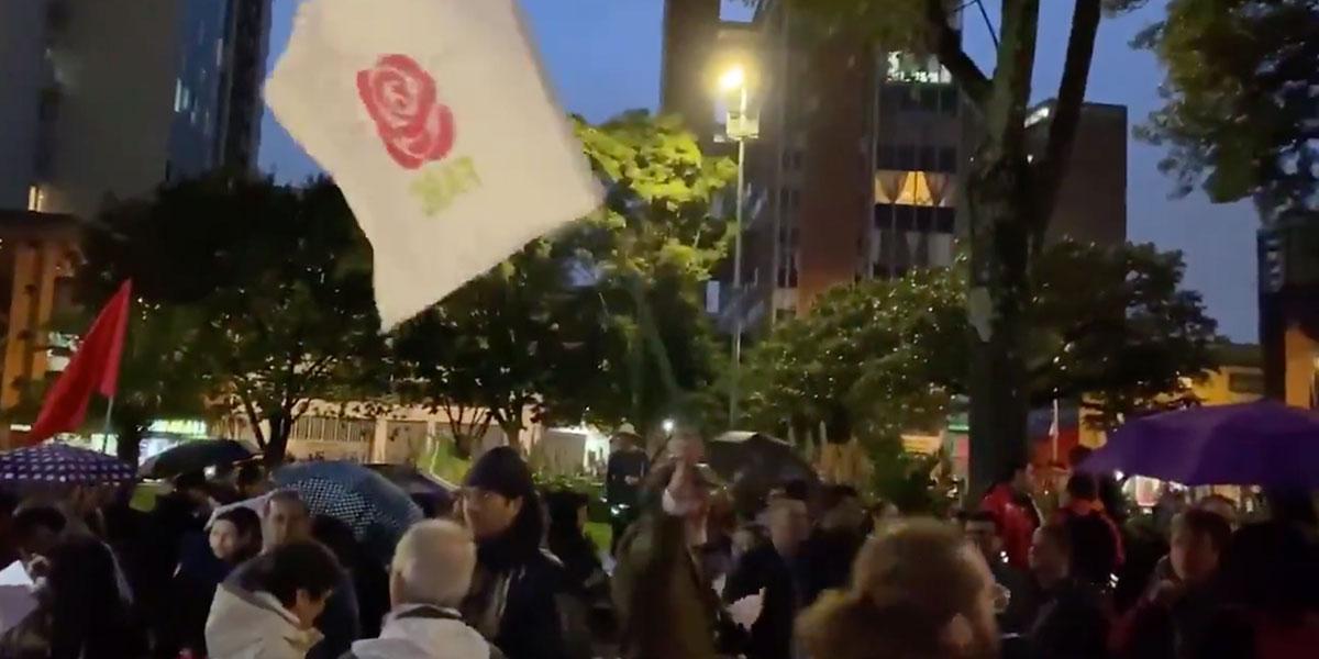 Partido FARC exigió al Gobierno con cacerolazo cese de asesinatos de desmovilizados