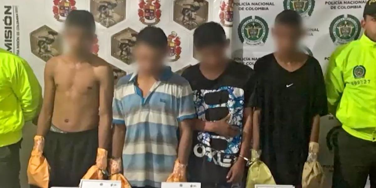 Duro golpe contra grupos armados: 37 capturados en Antioquia