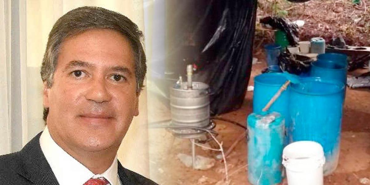 Embajador en Uruguay pidió licencia para enfrentar caso de narcolaboratorio en su finca