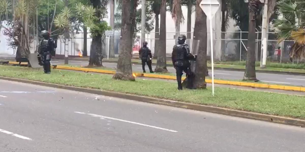Crítica situación de orden público en la Universidad del Valle por desórdenes