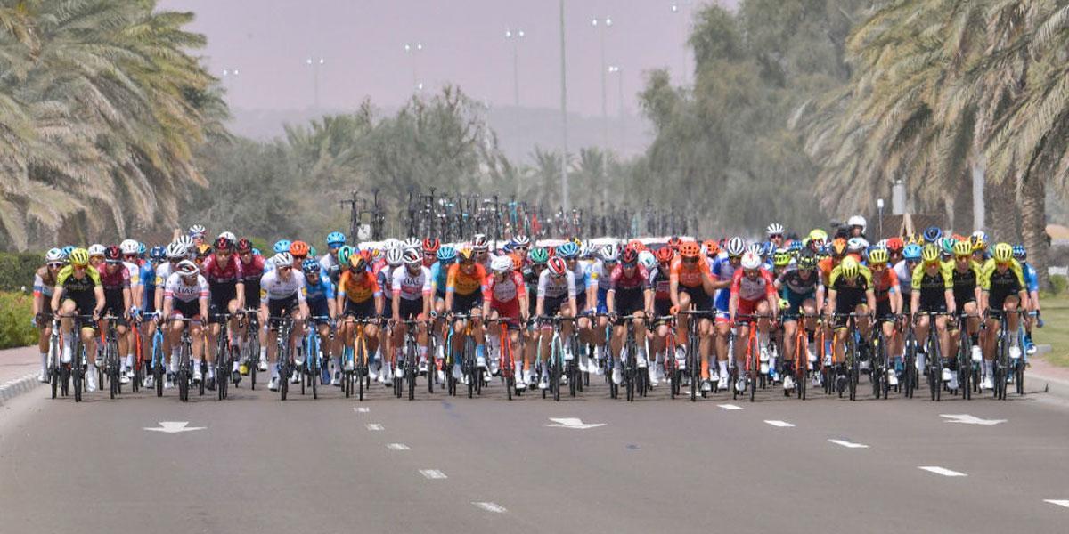 El Tour de los Emiratos se suspende por el coronavirus