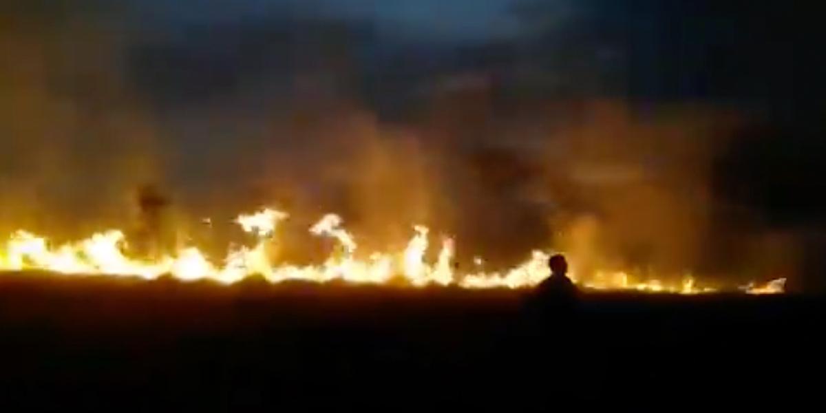 Incendio forestal arrasa 1.160 hectáreas de sabana y bosque en Vichada