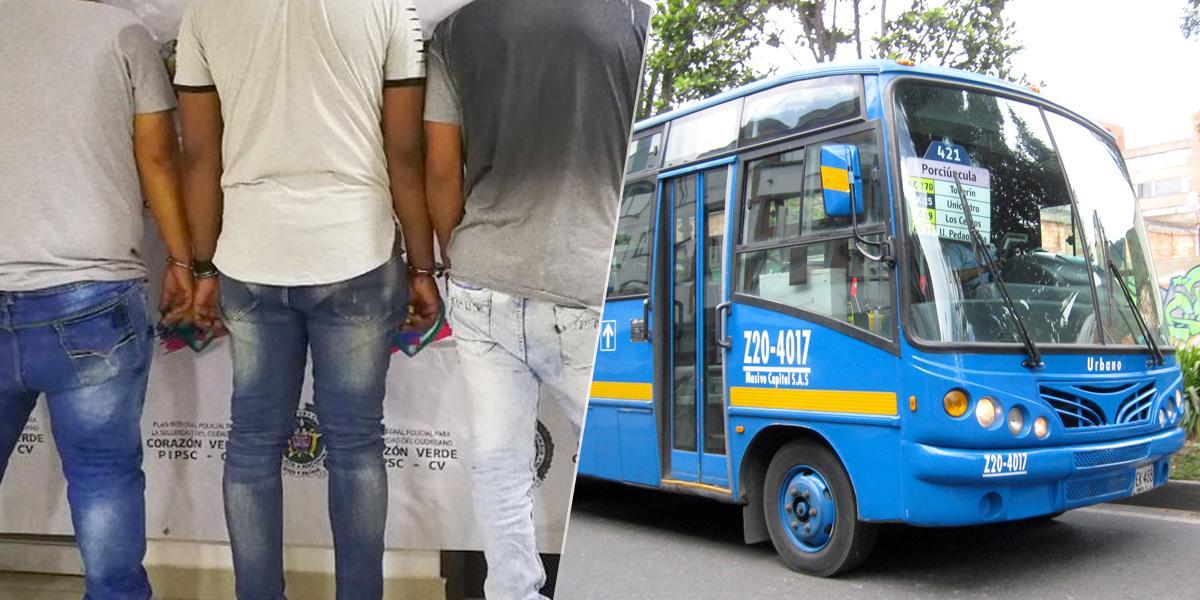 Desarticulan red delincuencial dedicada al hurto de autopartes de buses del SITP