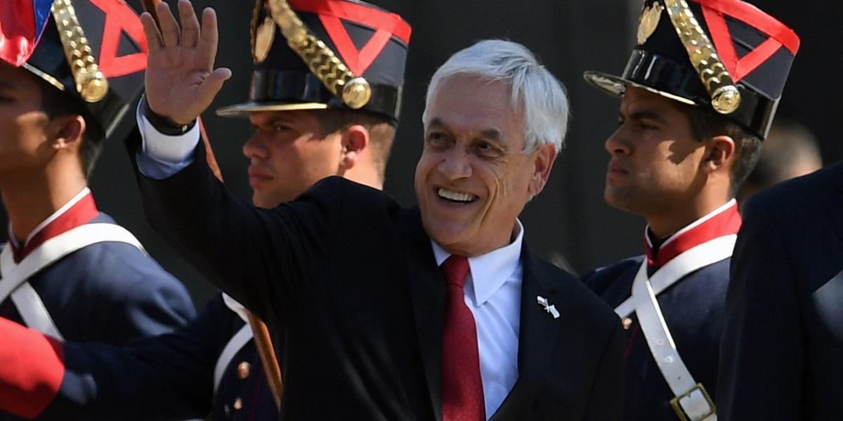 Sebastián Piñera / Foto: AFP
