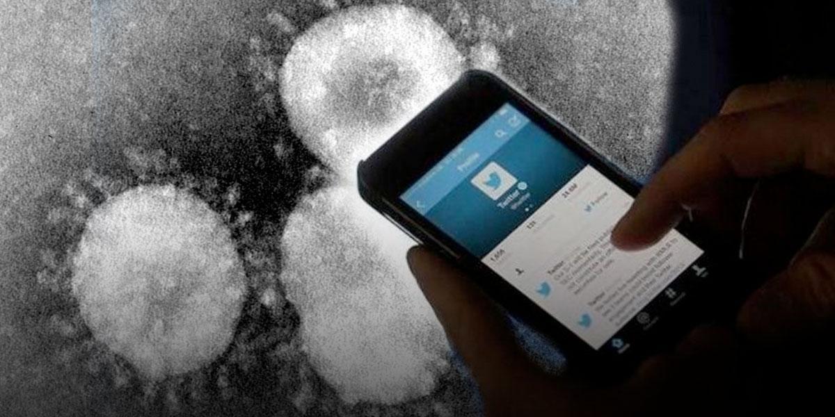 Empleados  de Twitter trabajarán desde su casa por coronavirus