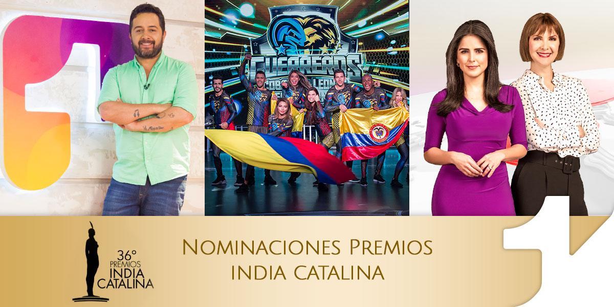 Canal 1 tiene tres nominaciones a los Premios India Catalina 2020