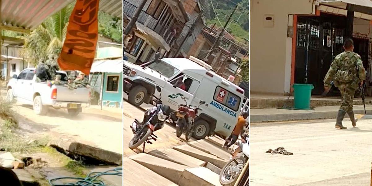 Fuertes enfrentamientos entre grupos armados en Argelia, Cauca