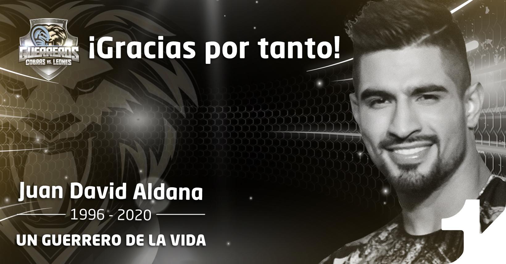 Muere Juan David Aldana Guerreros