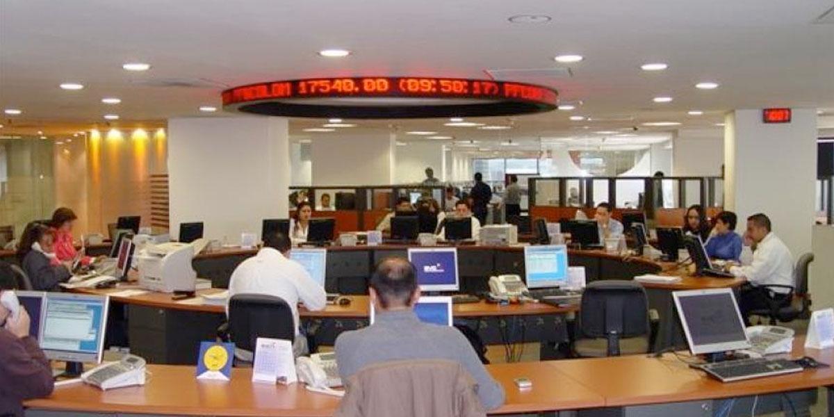 Bolsa de Valores de Colombia suspende operaciones por pérdidas del 10 %