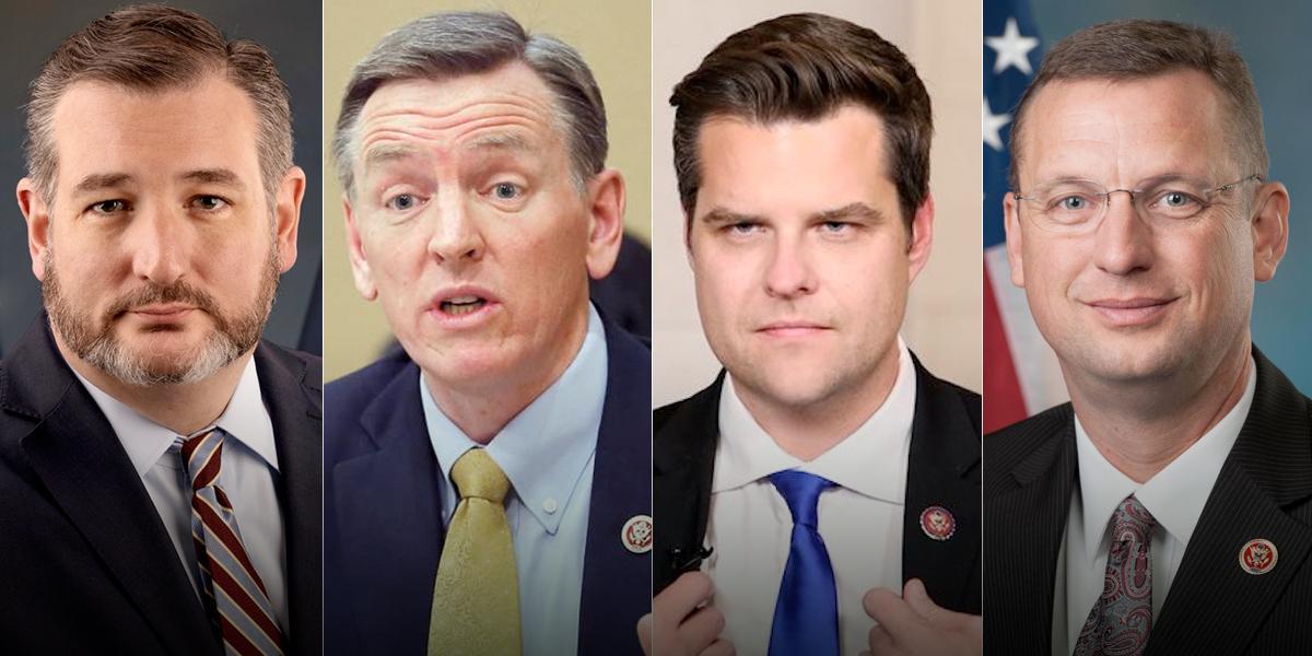 Congresistas que estuvieron con Trump se ponen en cuarentena