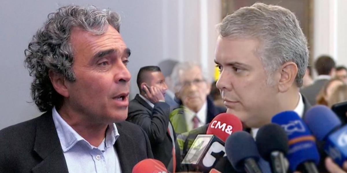 Dura crítica de Sergio Fajardo al presidente Iván Duque