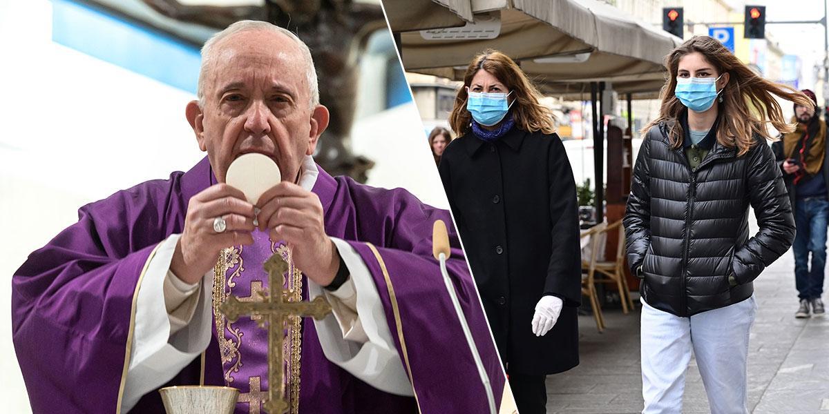 Papa invita a sacerdotes 'a salir al encuentro de enfermos' por coronavirus