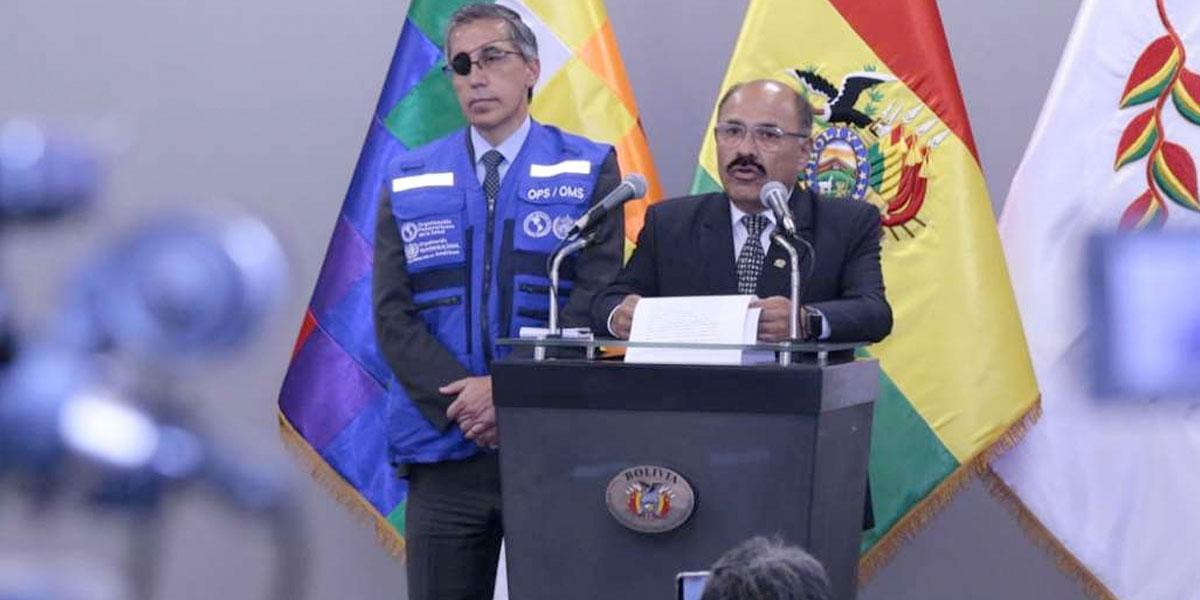 Bolivia confirma sus dos primeros casos de coronavirus