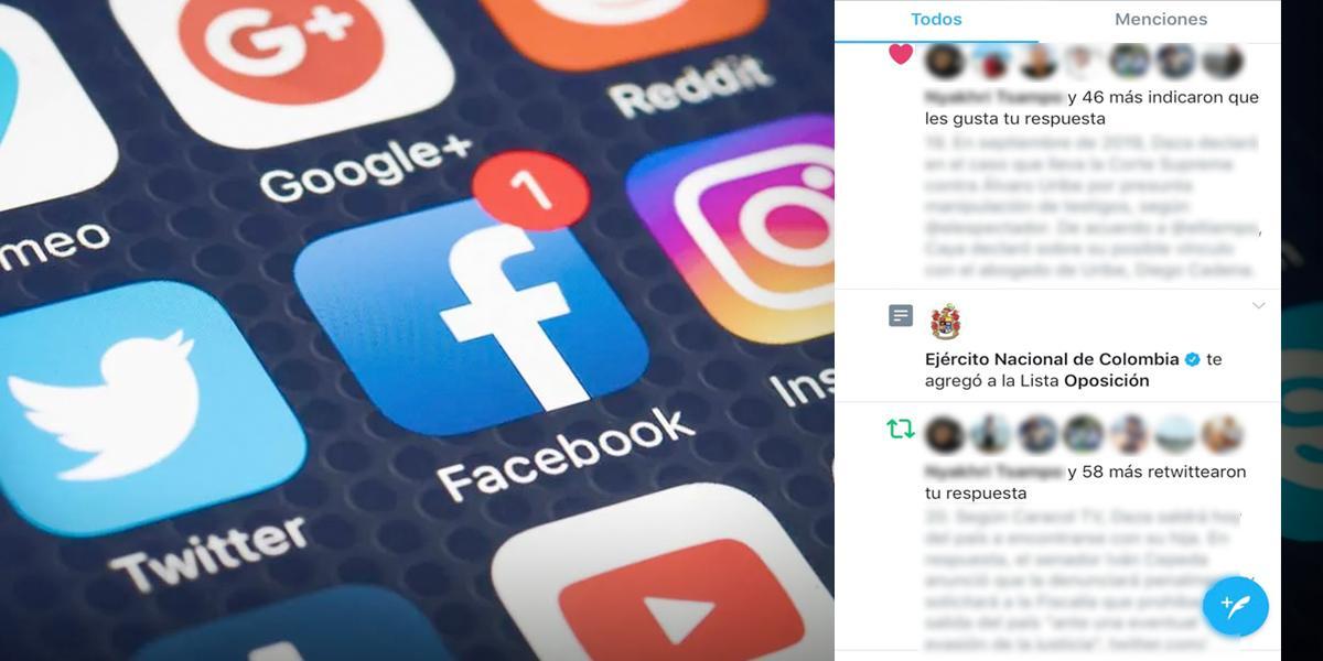 """Por polémica lista """"oposición"""", MinDefensa actualizará normas para sus publicaciones en redes"""