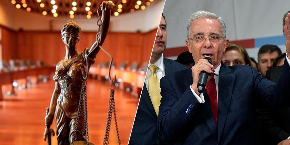 Indagación preliminar a expresidente Uribe en la Corte Suprema
