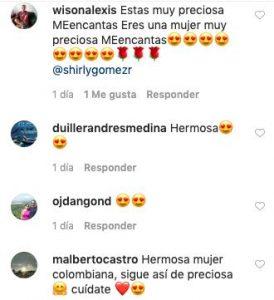 Comentarios desnudo Shirly Gómez