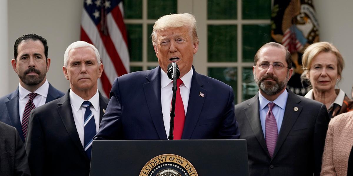 Trump declara emergencia nacional en EE. UU. por pandemia del coronavirus