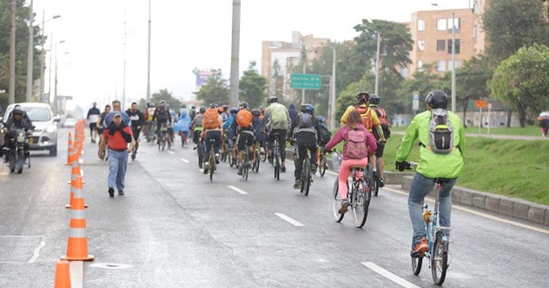 Estas son las vías habilitadas para ciclovía temporal que podrá usar por medidas contra coronavirus en Bogotá