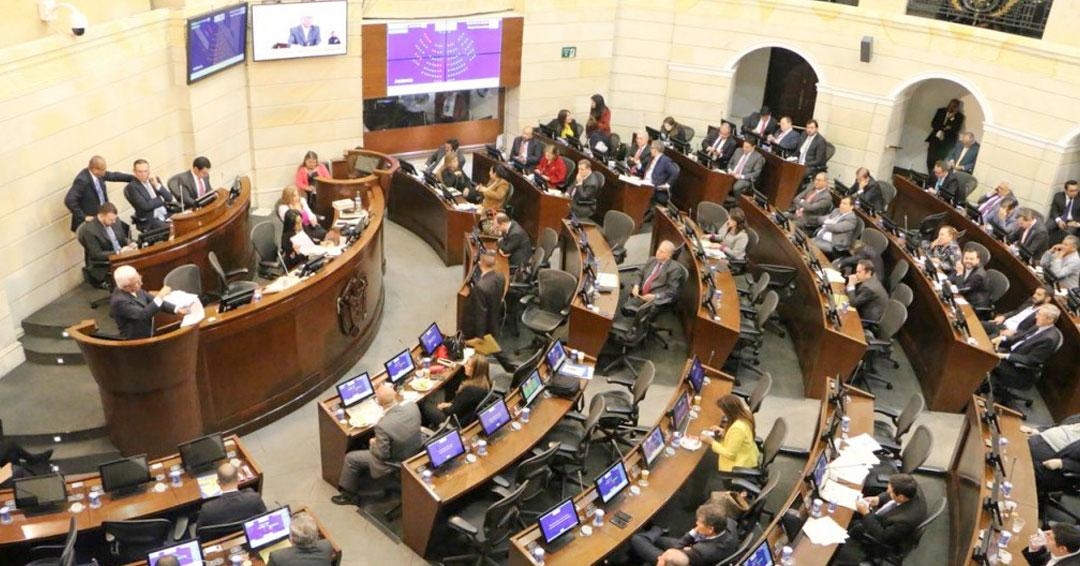 Aplazadas sesiones del Congreso de la República