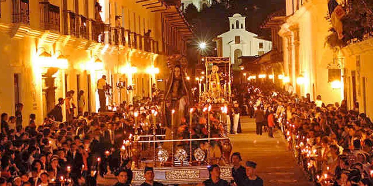 Suspenden procesiones de Semana Santa en Popayán