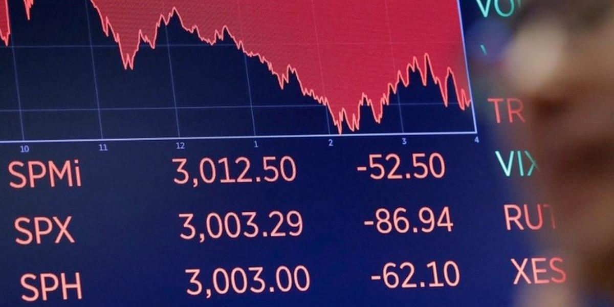 Wall Street reportó su peor sesión desde el inicio de la crisis por el coronavirus