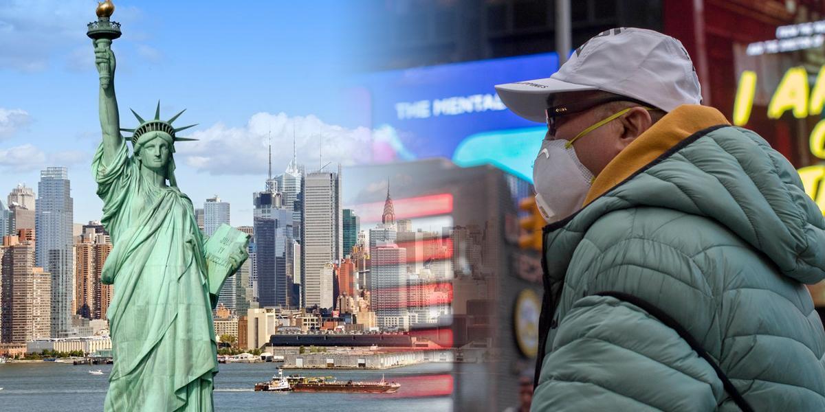 En 48 horas podrían decretar aislamiento total en Nueva York por coronavirus