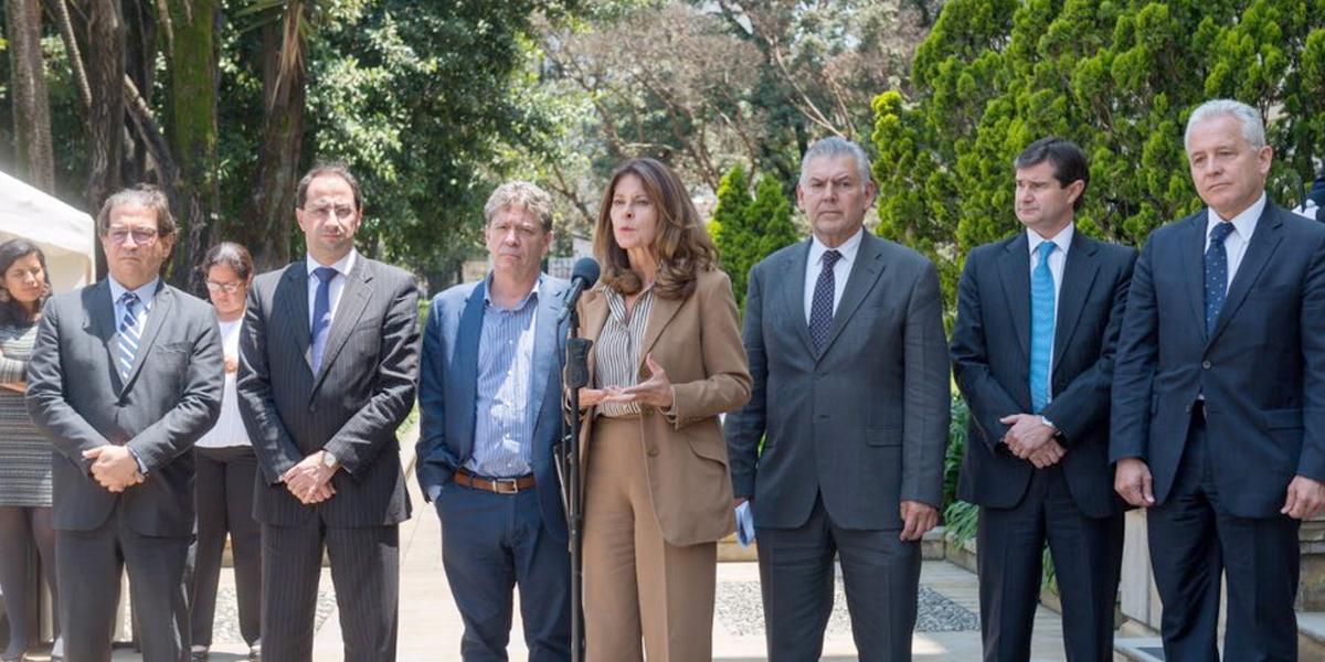 Si acatamos los adecuados controles, no será necesario tomar medidas más fuertes: Marta Lucía Ramírez