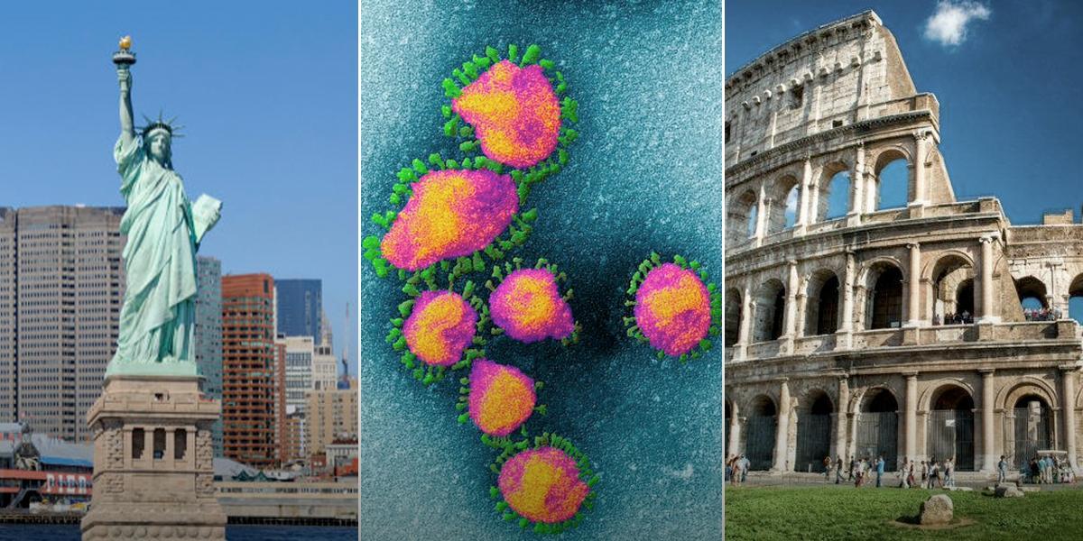 ¿Nueva York podría ser la próxima Italia en la pandemia del coronavirus?
