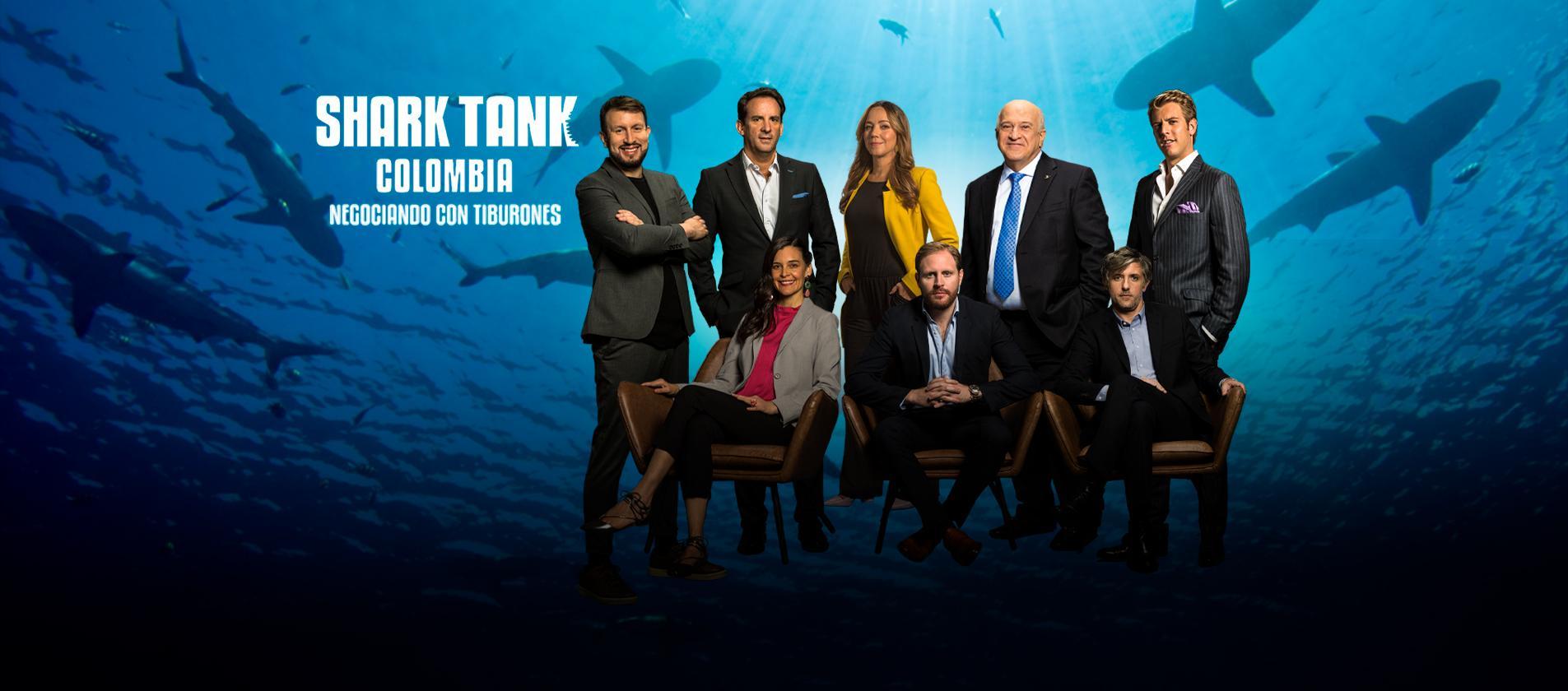 Shark Tank Colombia, negociando con tiburones