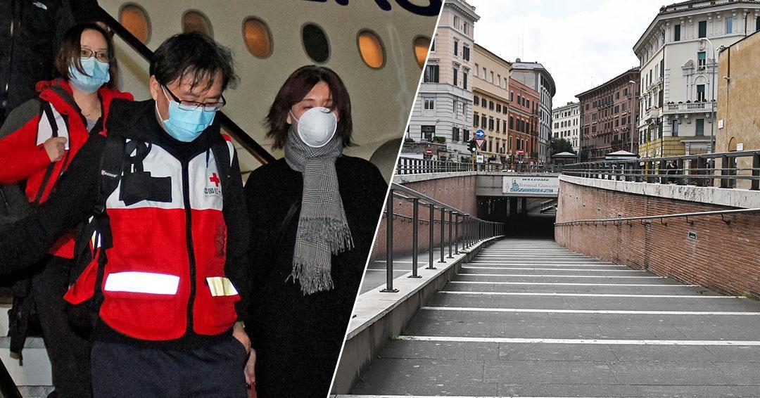 Expertos chinos en Italia exigen más restricciones para controlar el coronavirus