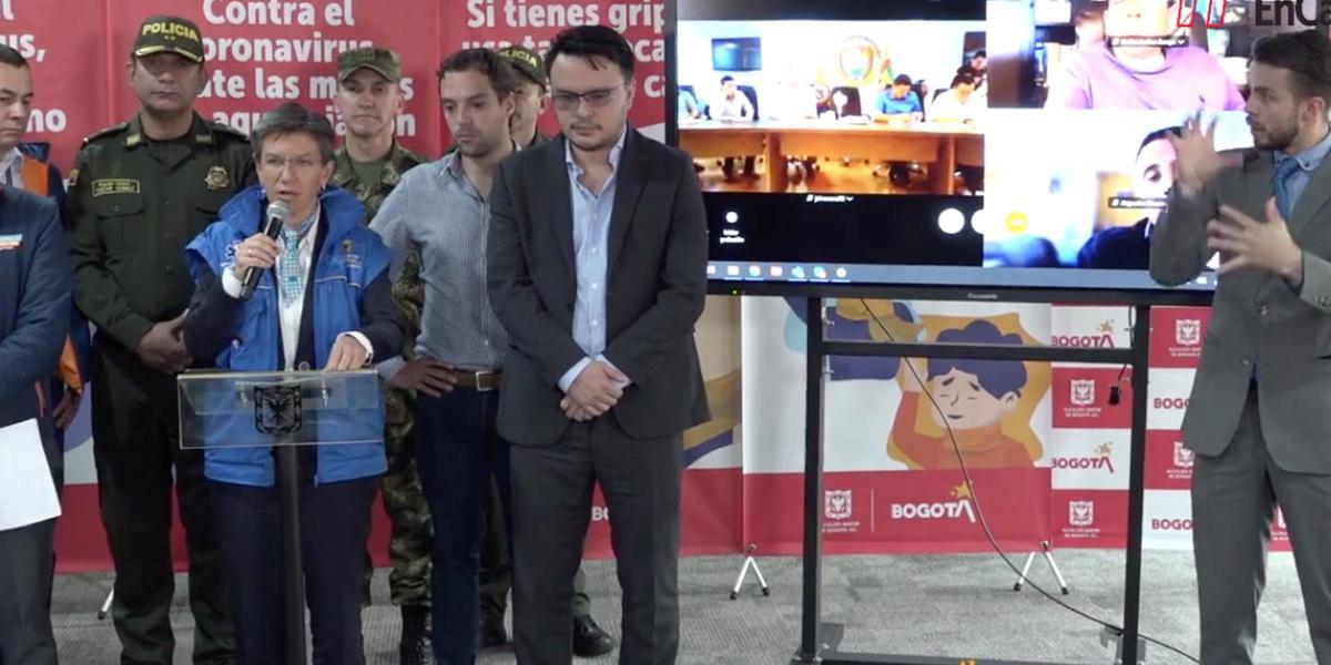 Claudia López confirma simulacro de aislamiento en Bogotá a partir de la medianoche de este jueves