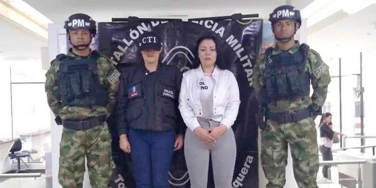 Cayó una de las cinco colombianas más buscadas por Interpol