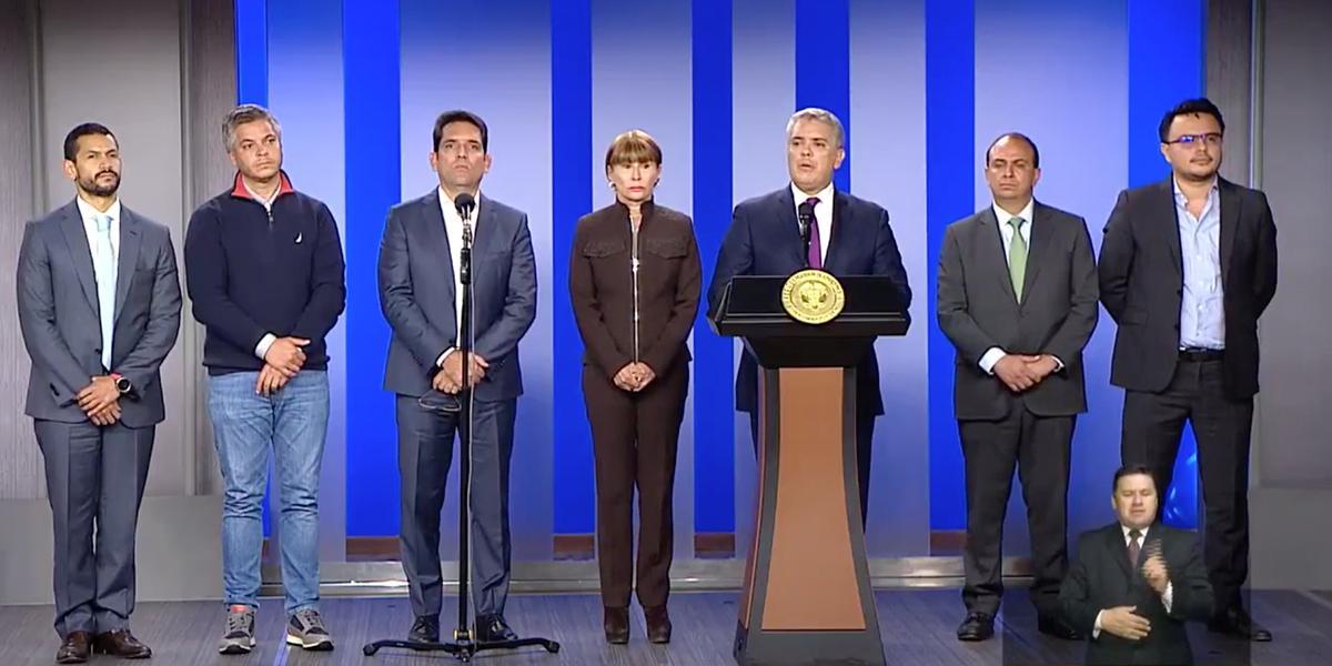 Presidente Duque coordina con municipios y departamentos medidas por coronavirus