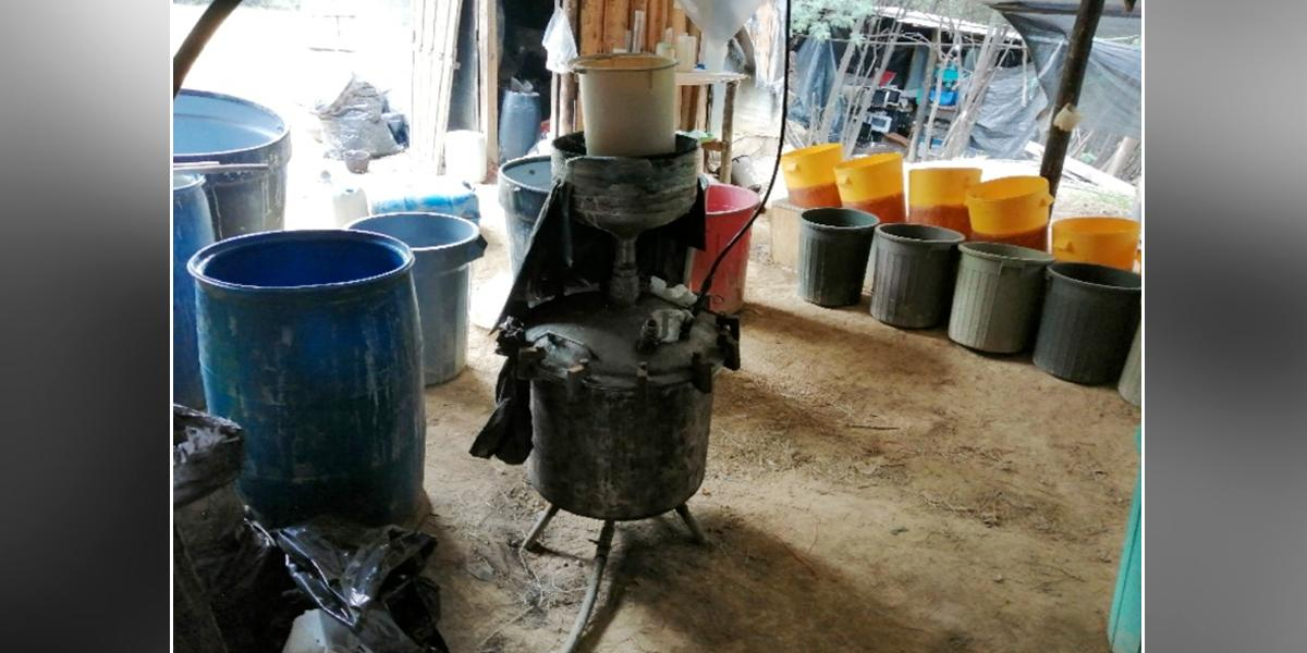 Desmantelan otro laboratorio de cocaína en Cundinamarca