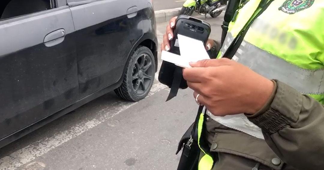 Han impuesto más de 163 comparendos por no cumplir restricción vehicular durante este viernes en Bogotá