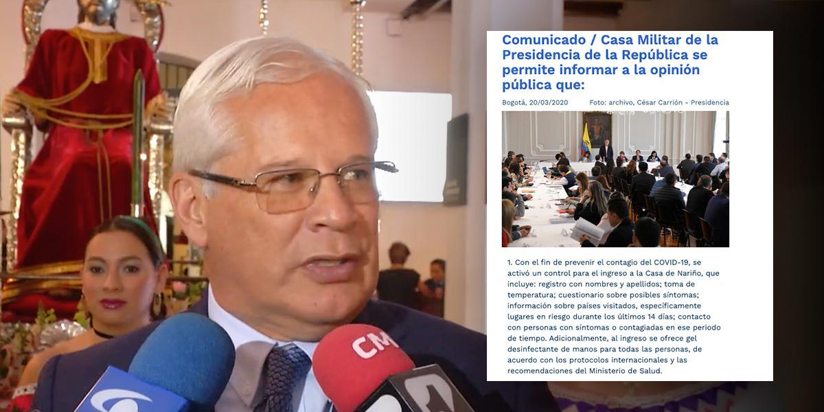 Alcalde de Popayán contagiado con coronavirus, no informó su visita al exterior