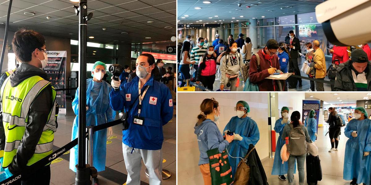 Refuerzan atención de pasajeros en aeropuerto El Dorado