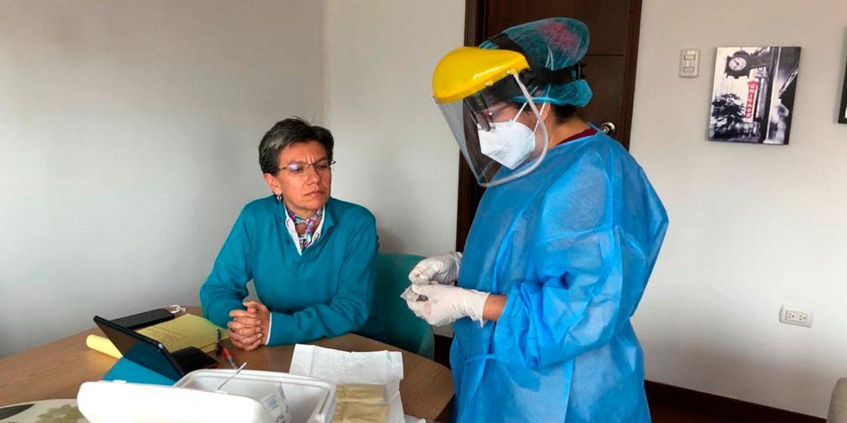 Alcaldesa Claudia López se practicó prueba de coronavirus tras asistir a evento con alcalde de Popayán