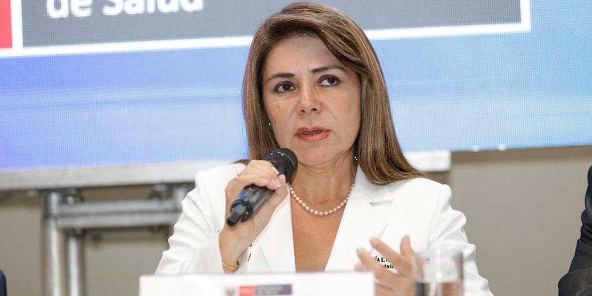 Destituyen a Ministra de Salud tras primeras cuatro muertes por coronavirus en Perú