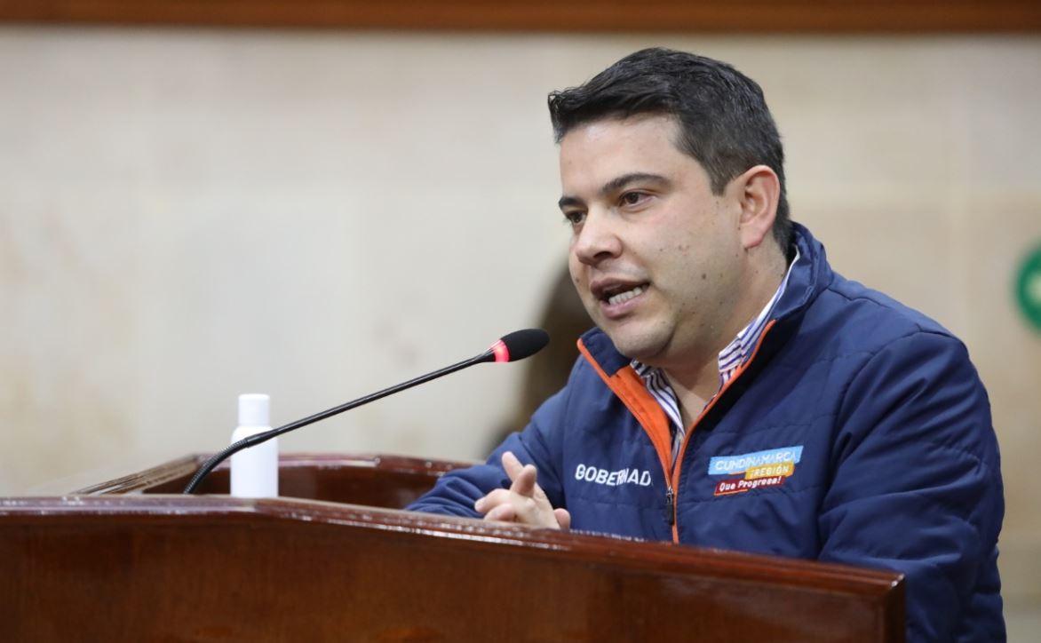 nicolas garcia gobernador cundinamarca