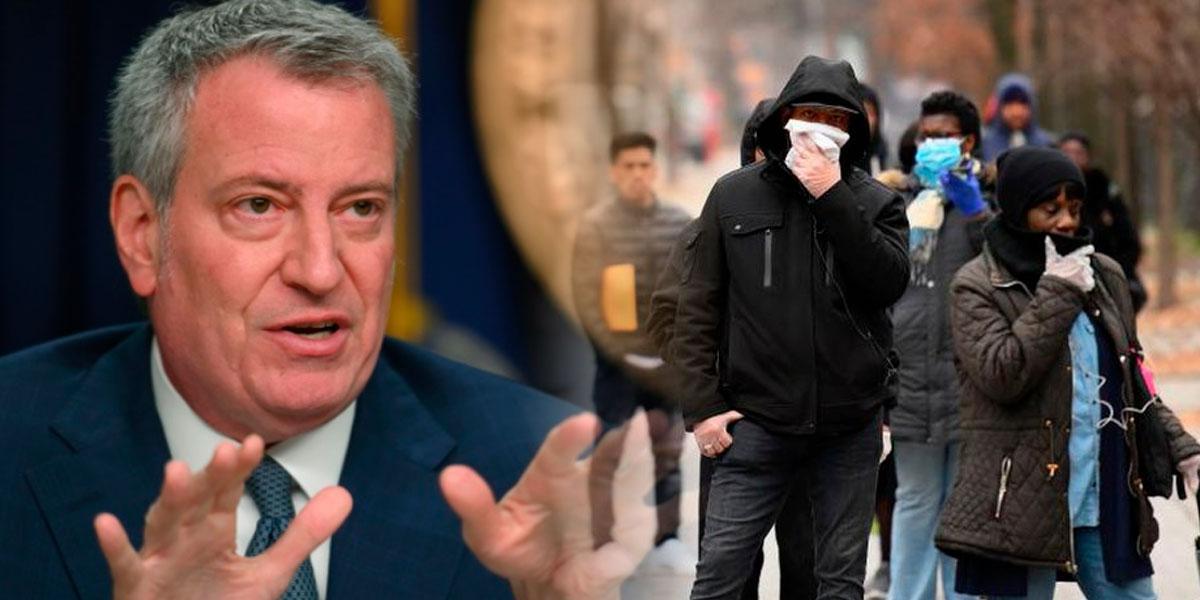 Nueva York se quedará sin respiradores en días, sostiene su alcalde