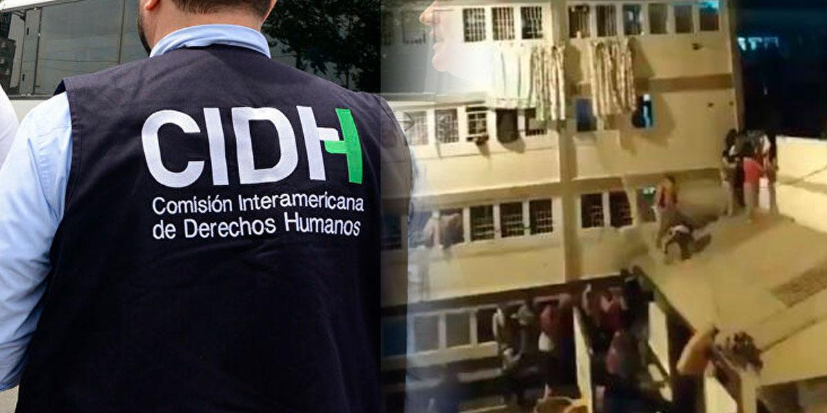 Comisión Interamericana de Derechos Humanos condenó hechos de violencia por motines en cárceles