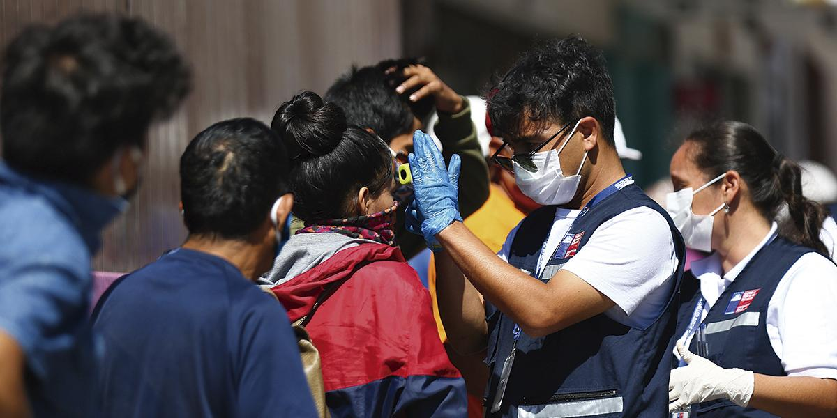 Chile llega a 922 contagios por coronavirus